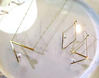 coctail gold set
